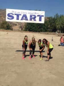 Dr. U's staff at Mud Run
