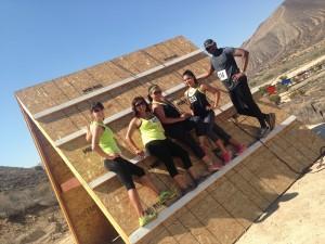 Dr. U and team at Mud Run