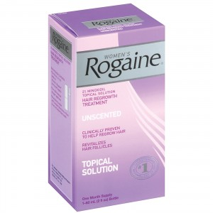 Females using Rogaine for Hair Loss