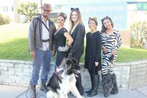 Halloween at Dermhair Clinic in 2013